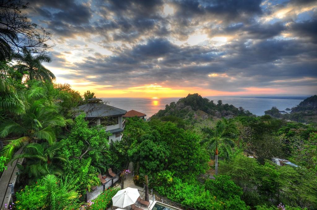 Sunset at Quepos, Puntarenas