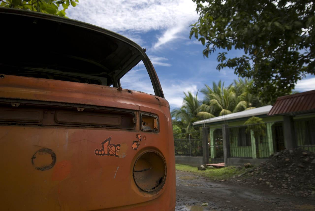 VW Bus, Puerto Viejo de Talamanca, Costa Rica