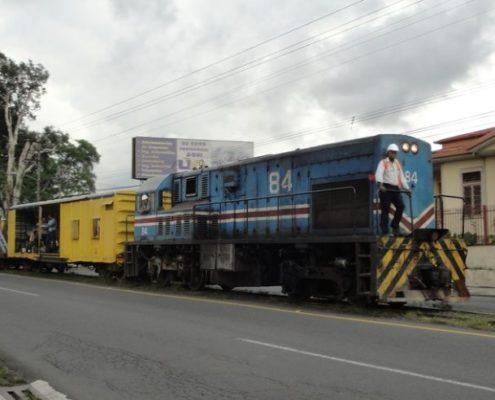 Zugverkehr in Costa Rica
