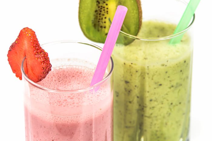 Frische Fruchtgetränke