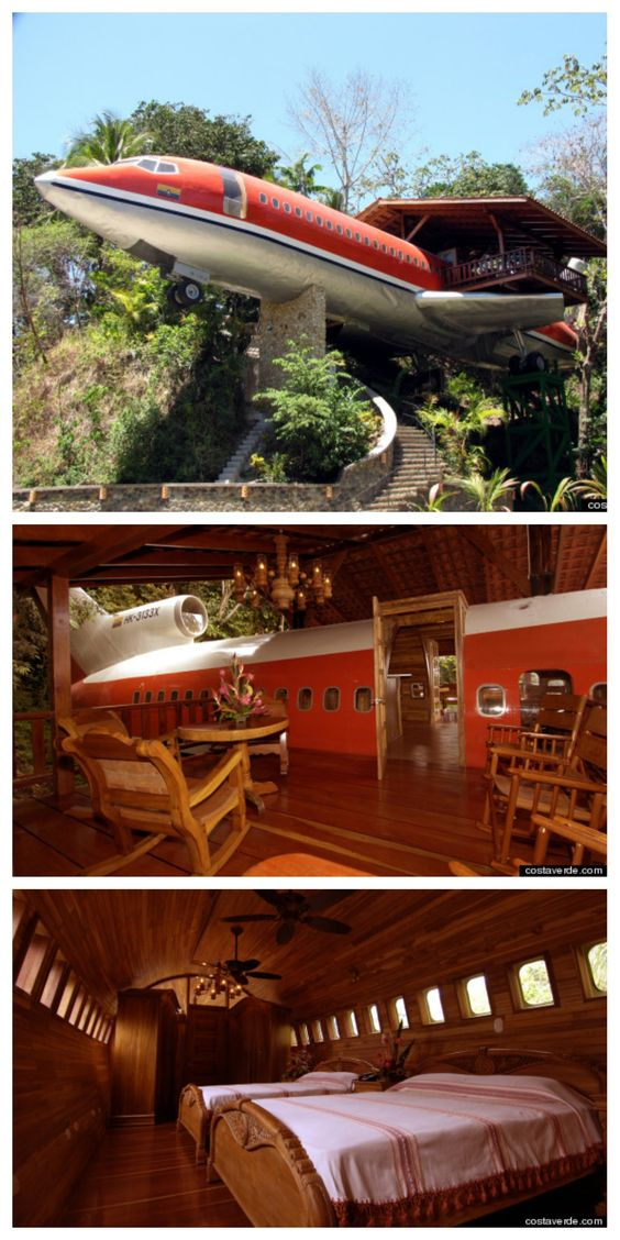Flugzeug Hotel Costa Rica