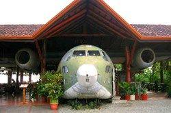 Flugzeug Restaurant Manuel Antonio