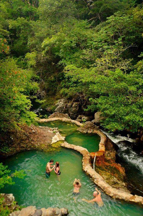 Heisse Quellen in Costa Rica