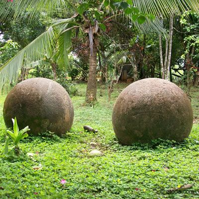 Steinkugeln Costa Rica