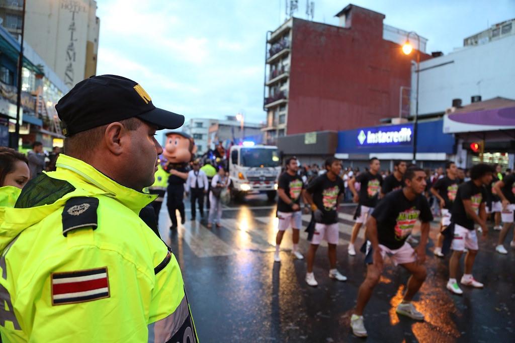 Polizei und Sicherheit in Costa Rica