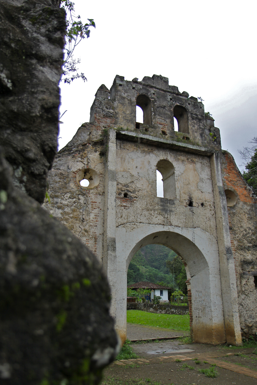 Ruine Ujarrás, Cartago, Costa Rica