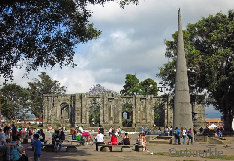 Ruinen in Cartago