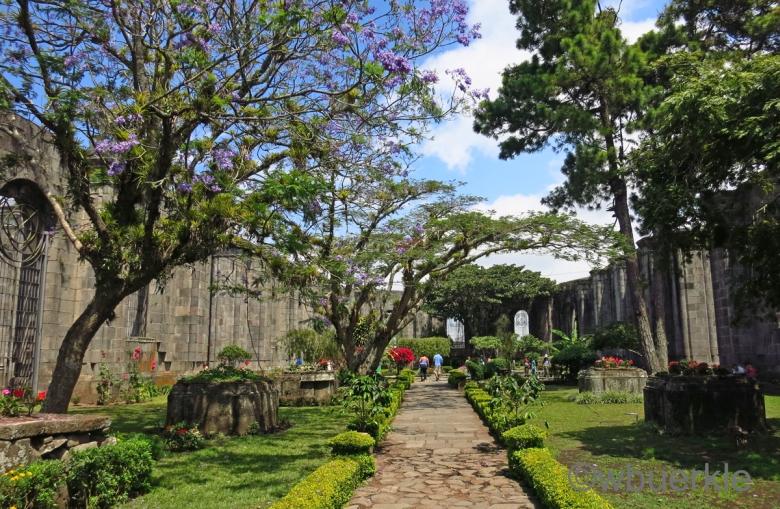 Ruine der Kirche in Cartago