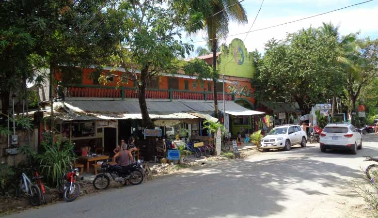 Eine Strasse in Santa Teresa