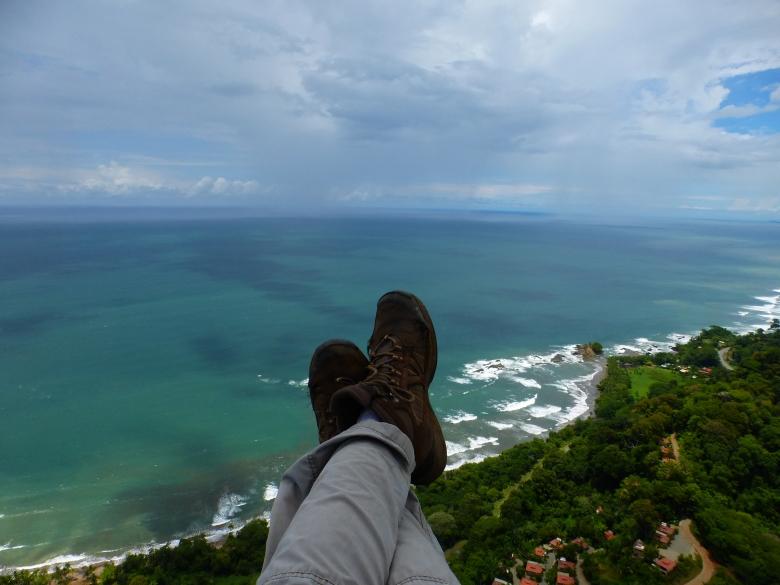 Gleitschirmfliegen in Costa Rica