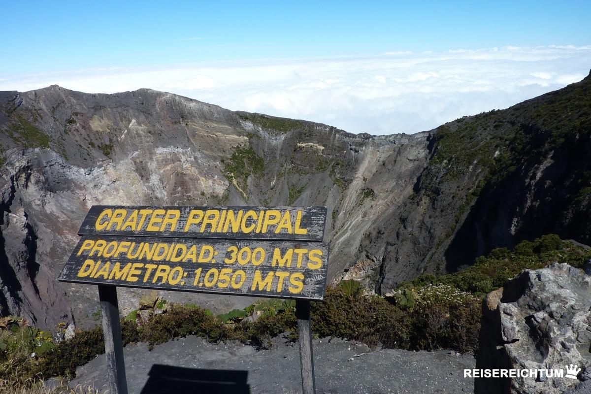 Vulkan Irazú | Foto: Reisereichtum