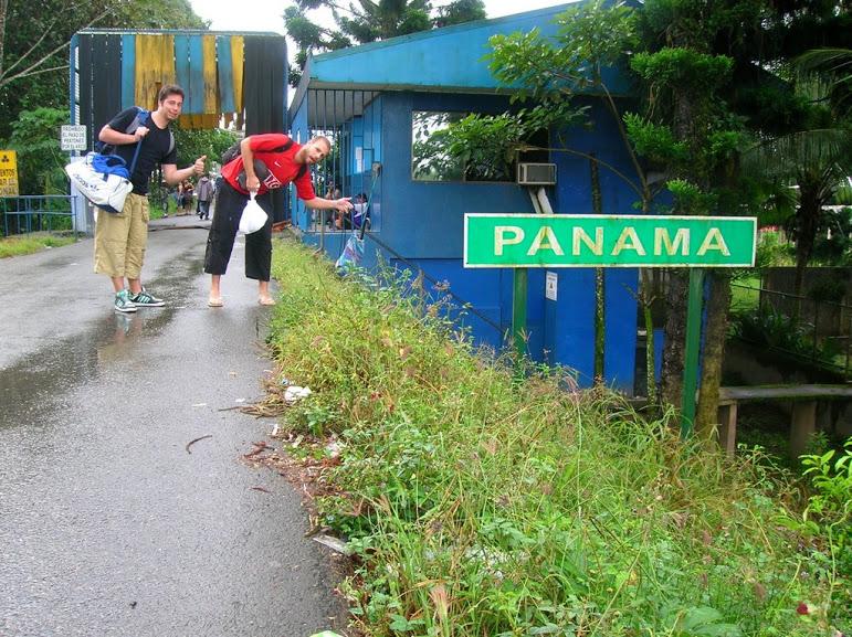 Grenzübergang zu Panama