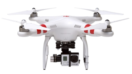 Quadrocopter für Kamera