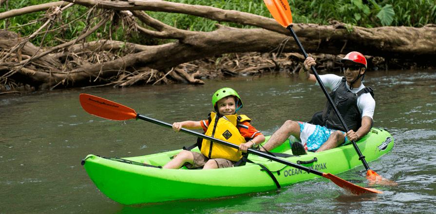 Kayak auf dem Rio Cuarto | Foto: Cinco Ceibas
