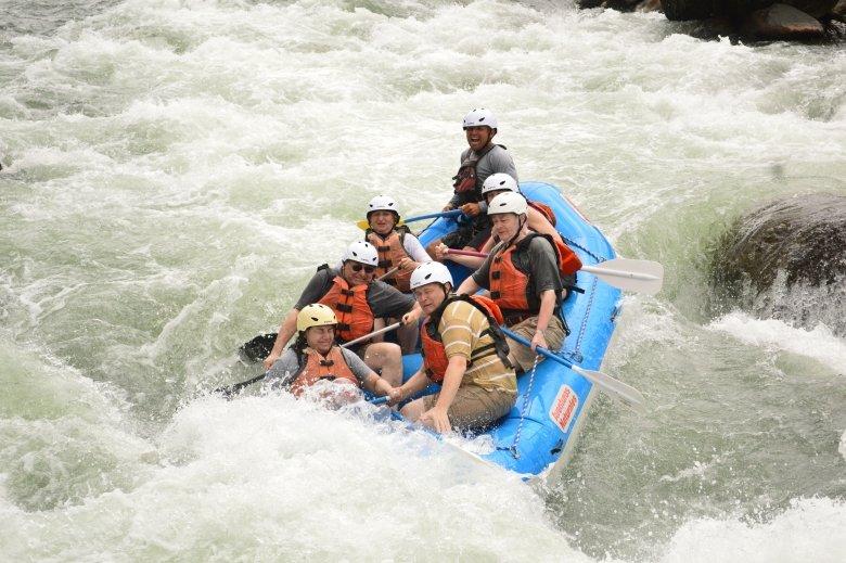 Wild Wasser fahren in Costa Rica