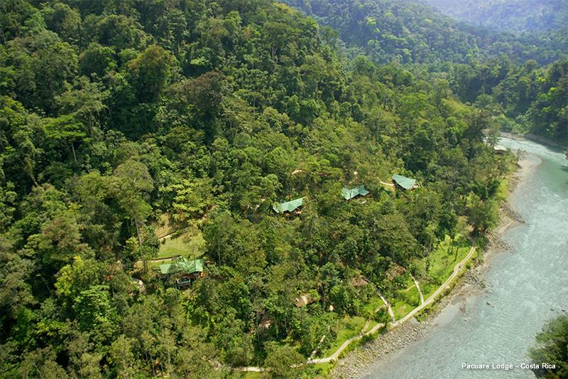 Pacuare Lodge von oben | Foto: Pacuare Lodge
