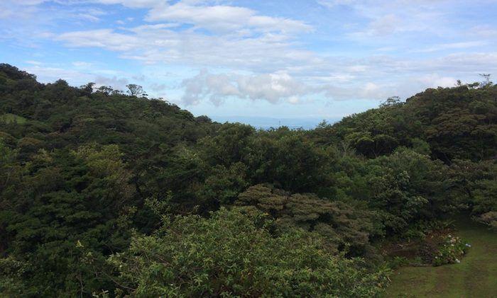 Monteverde mit Aussicht zum Pazifik