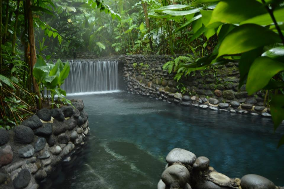 "Thermalbad ""Ecotermales"" in La Fortuna 
