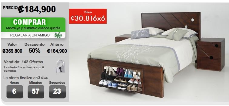 Beispiel Bett bei Yuplon