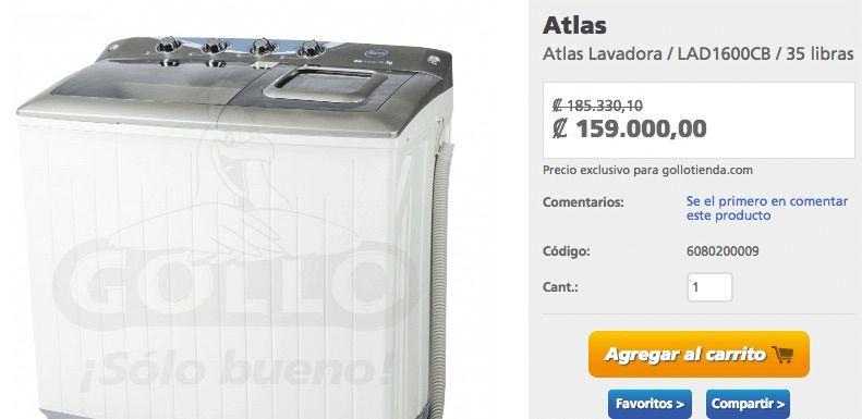 Waschmaschine kaufen in Costa Rica