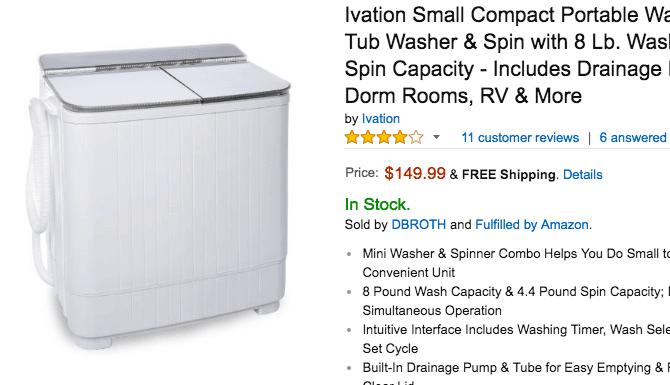 Waschmaschine in den USA kaufen