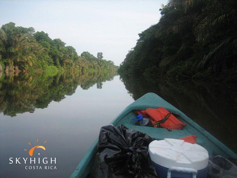 Mit dem Kanu durch Costa Rica