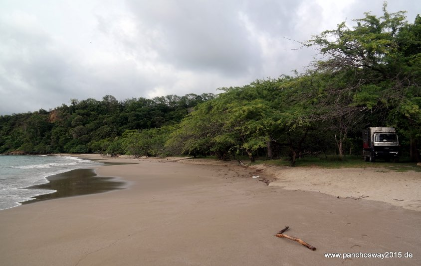 Playa Rajada, Strand in Costa Rica