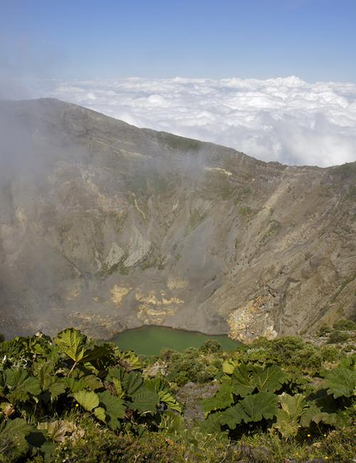 Vulkan Irazú in Costa Rica