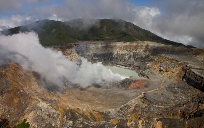 Vulkan Poás, Costa Rica