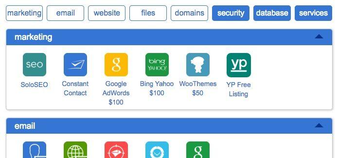 cPanel Webhosting Beispiel