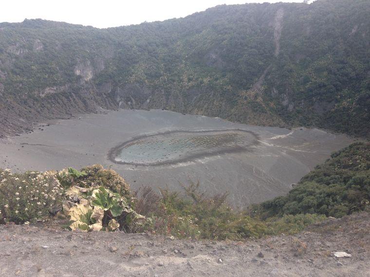 Vulkan Irazú, Costa Rica