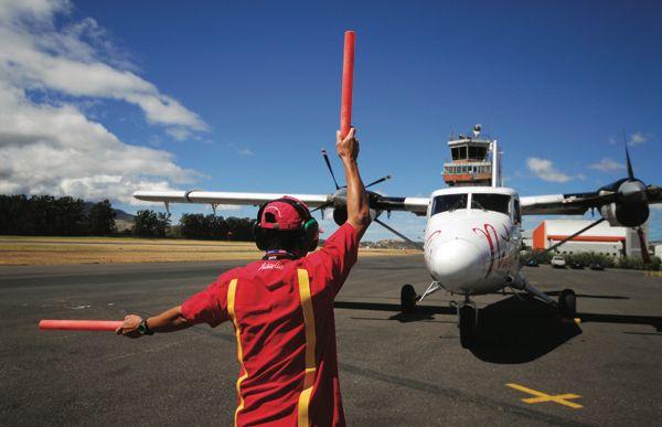 Flugpiste in Costa Rica für Inlandflüge