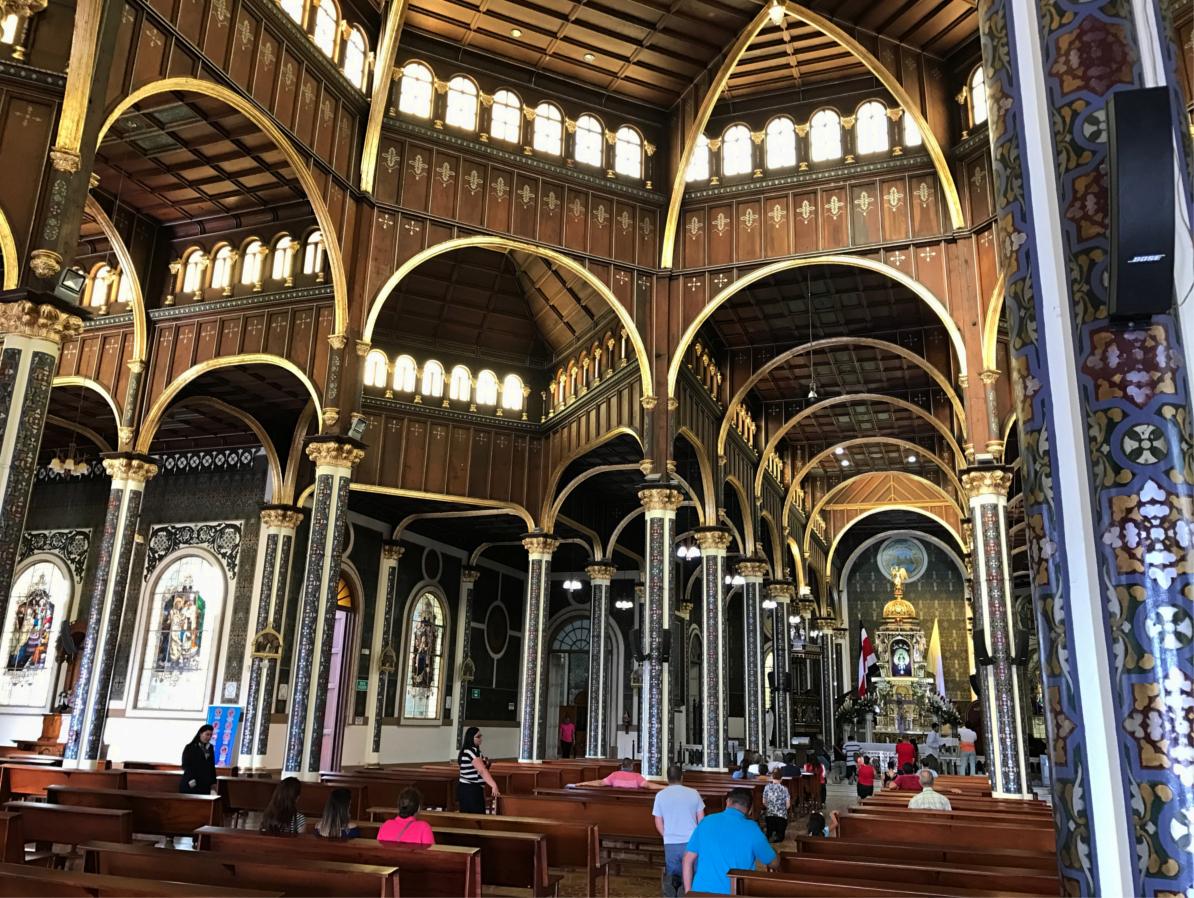 Kirche Los Ángeles, Cartago, Costa Rica