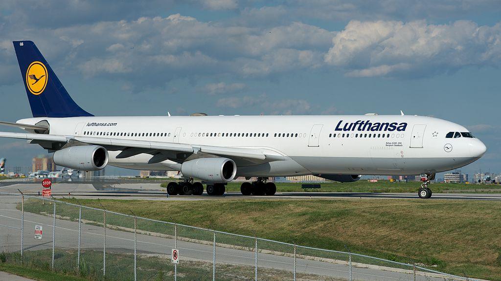 Lufthansa A340-300