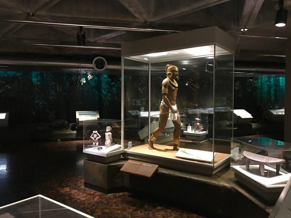Ausstellungsraum Goldmuseum, San José, Costa Rica