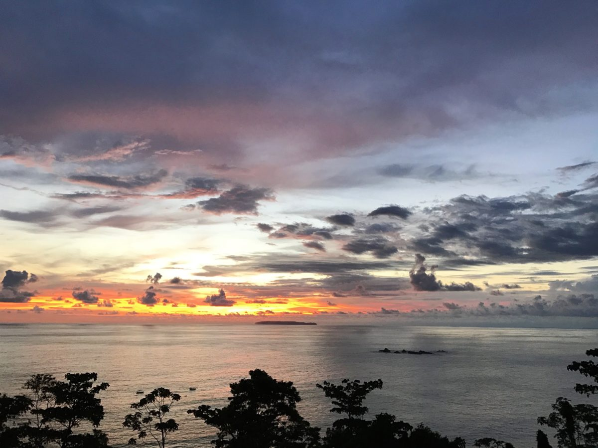 Corcovado Nationalpark, Sicht zur Isla del Caño