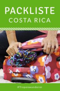 Packliste Reisen Costa Rica