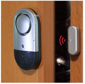 Reise-Alarm für die Türe