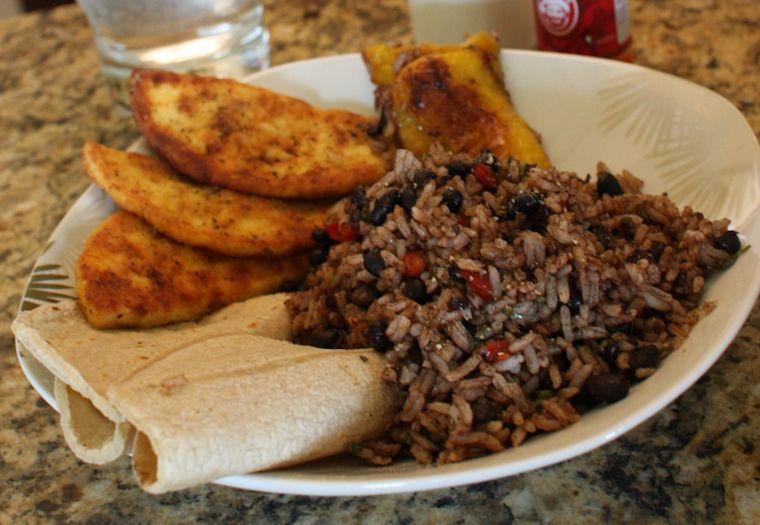 Gallo Pinto - costa-ricanisches Essen