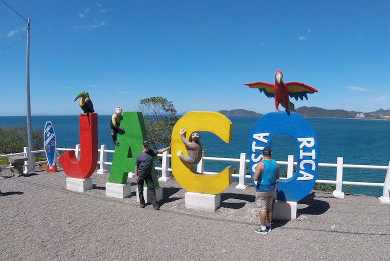 Willkommen in Jacó