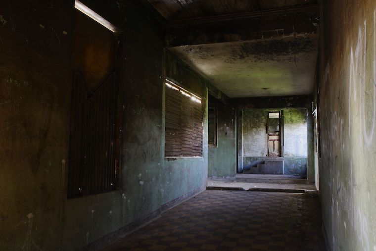 Raum im Sanatorium Durán