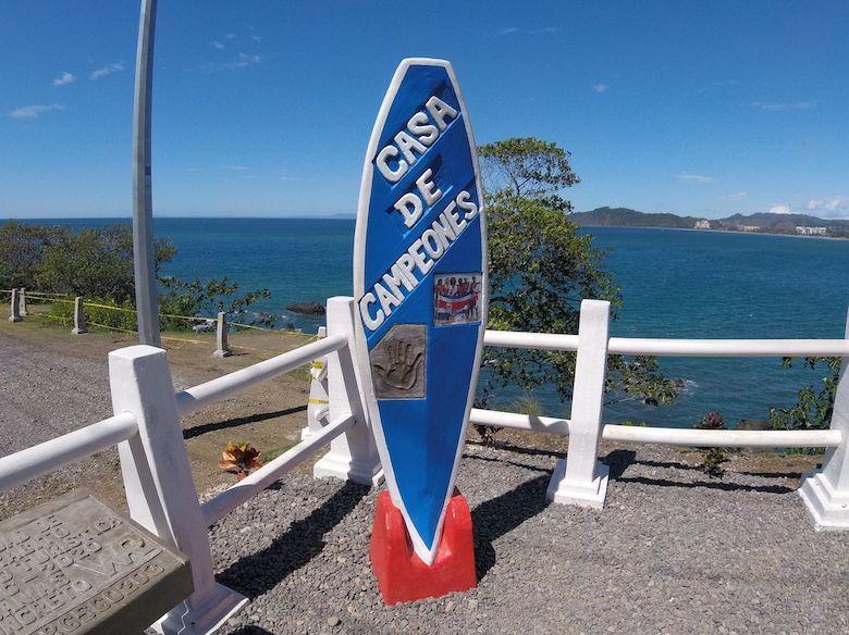 costa-ricanischen Surf-Weltmeister Jaco