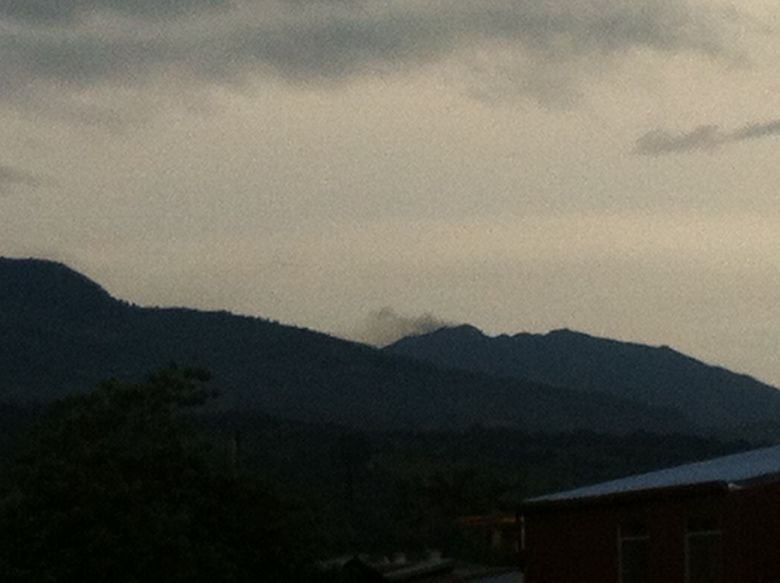 Vulkan Turrialba normale Aktivität