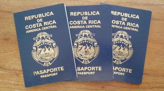 Costa-Ricanische Reisepässe